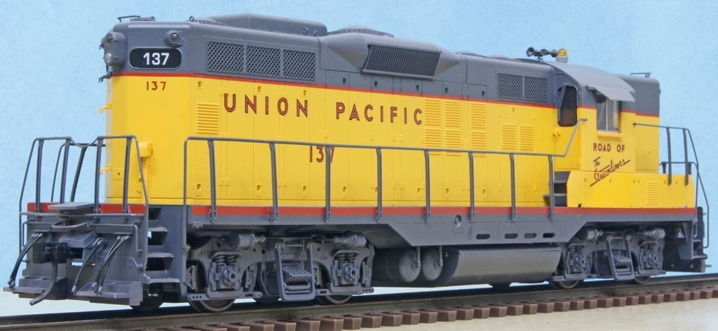 UP EMD GP9 (Red Caboose): Oゲ...